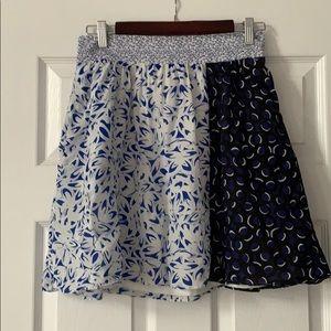 100% silk Maeve skirt